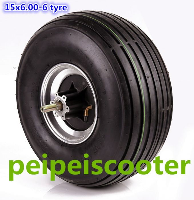 15 Inch Tires >> 15inch 15 Inch Widen Tire 15x6 00 6 Tyre Bldc Brushless Non Gear Hub Wheel Motor For Scooter Phub 181