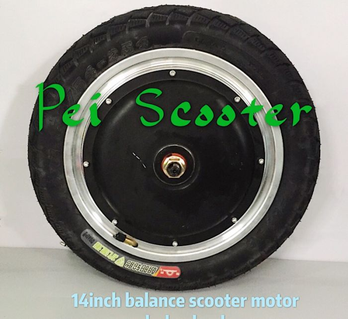 14 Inch Tires >> 14inch Bldc 14 Inch Double Shaft Brushless Gearless Dc Hub Motor