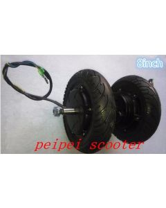 8inch 8 inch 300w BLDC brushless dc hub motor for skateboard scooter motor phub-71