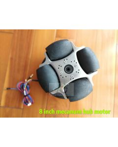 8 inch brushless non-gear scooter robot motor mecanum wheel phub-m88
