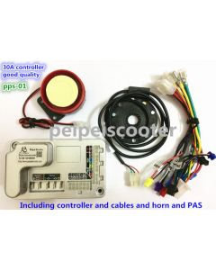 30A brushless scooter dc motor controller DIY KIT which can be programmed by our software pps-01
