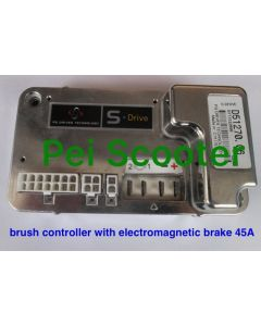 45A brushed wheelchair scooter dc motor controller with electromagentic brake good quality pps-45