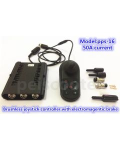 50A brushless wheelchair scooter dc motor joystick controller with electromagentic brake pps-16