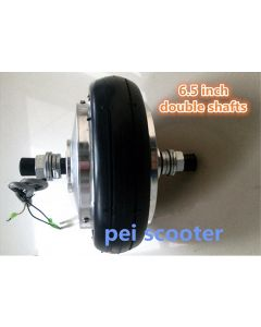 6.5inch 6.5 inch double shaft brushless geared dc hub motor for scooter DIY hub motor phub-158