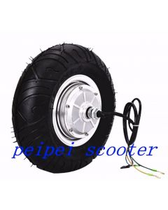 13inch 13 inch BLDC brushless dc hub motor for scooter with dics brake and tubeless tire phub-65