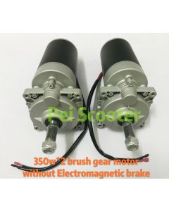 700w brushed geared electric balance scooter dc motor 350w*2 without electromagnetic brake PESM70L