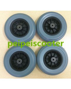 7 inch electric wheelchair PU tyre ppwt-07
