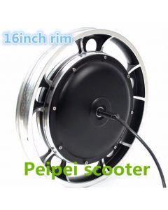 16inch electric bicycle dc wheel hub motor for DIY kit BLDC phub-122