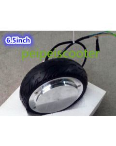 6.5 inch 6.5inch BLDC brushless motor gearless single side electronic brake wheel dc hub motor phub-40