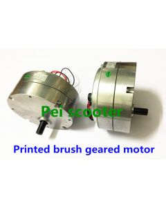 Printed brushed geared dc motor PRMT9