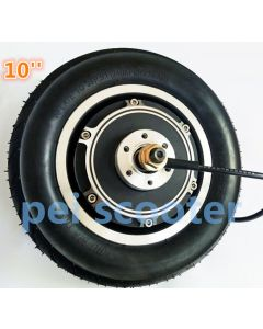10 inch 10inch BLDC dc scooter hub wheel motor with tyre 36v TO 48v 250w TO 350w phub-152