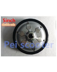 5 inch 5inch double shaft brushless gearless dc wheel hub scooter motor BLDC phub-140a